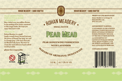 Picture of Pear Melomel